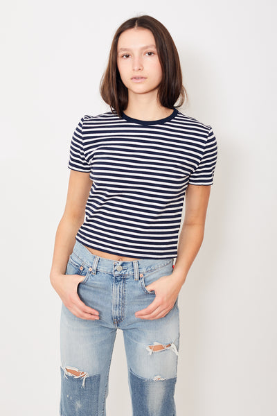 Denimist Striped Baby Tee