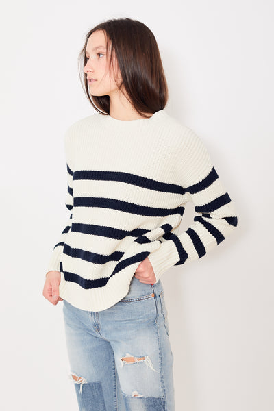 Denimist Striped Sailor Sweater