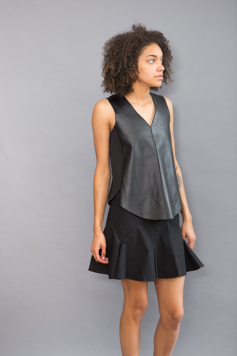 Derek Lam 10 Crosby 2 in 1 Tank Dress - grethen house