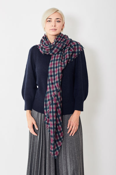 Destin Ginga Check Quadra Scarf