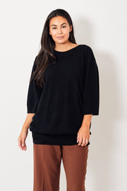 Dorothee Schumacher Deconstructed Look Short Sleeve Pullover