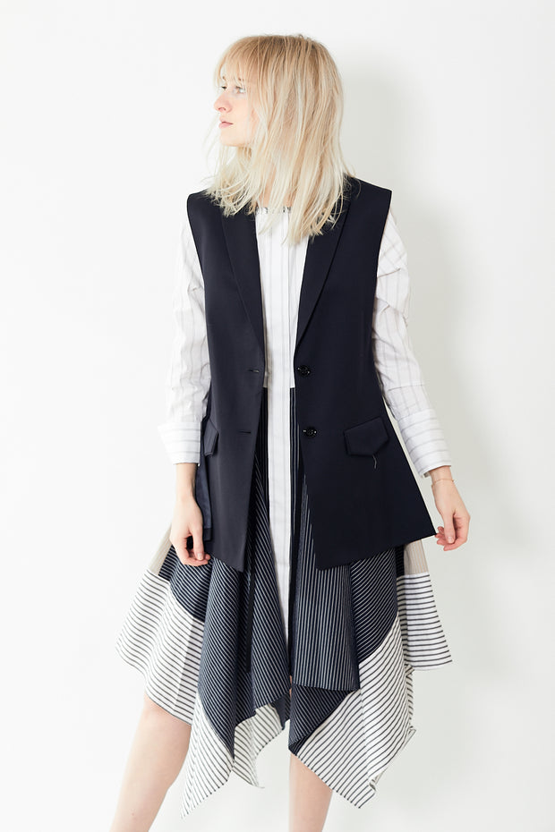 Dorothee Schumacher Cool Ambition Jacket Sleeveless