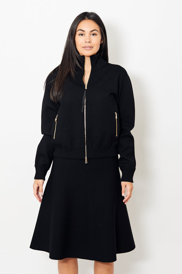 Dorothee Schumacher Sleek Sophistication Turtle Cardigan