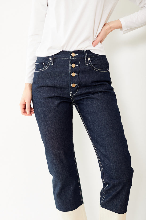 Eight Dreams Multi Colored Straight Jeans