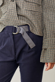 Eleventy Pants with Groe Belt