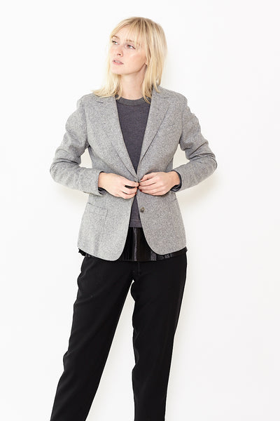 Eleventy St Wool 2 Button Jacket