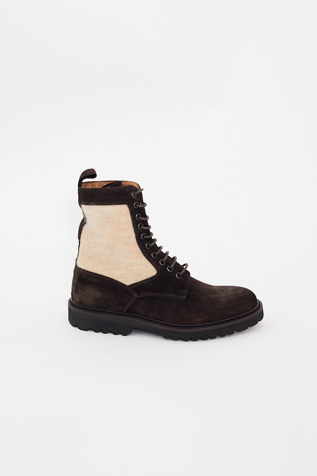 Eleventy Suede Boots