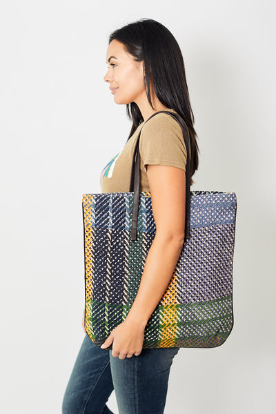 Épice Big Check Tote