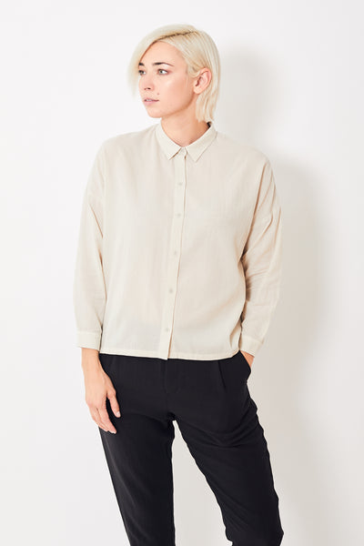 Evam Eva Cotton Square Shirt