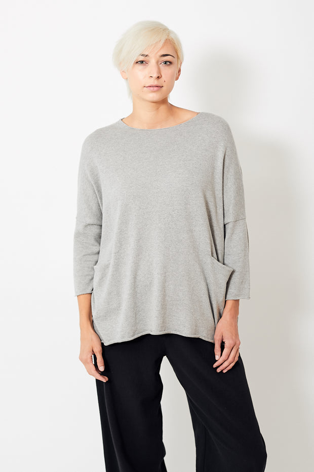 Evam Eva Recycled Cotton Pullover