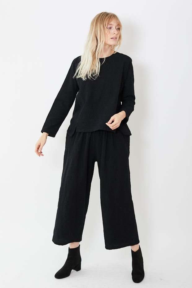 Evam Eva Cotton Wool Easy Pants
