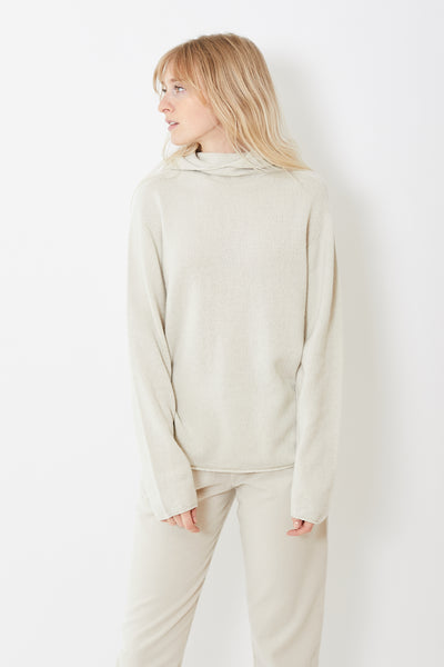Evam Eva Cotton Wool Knit Parka