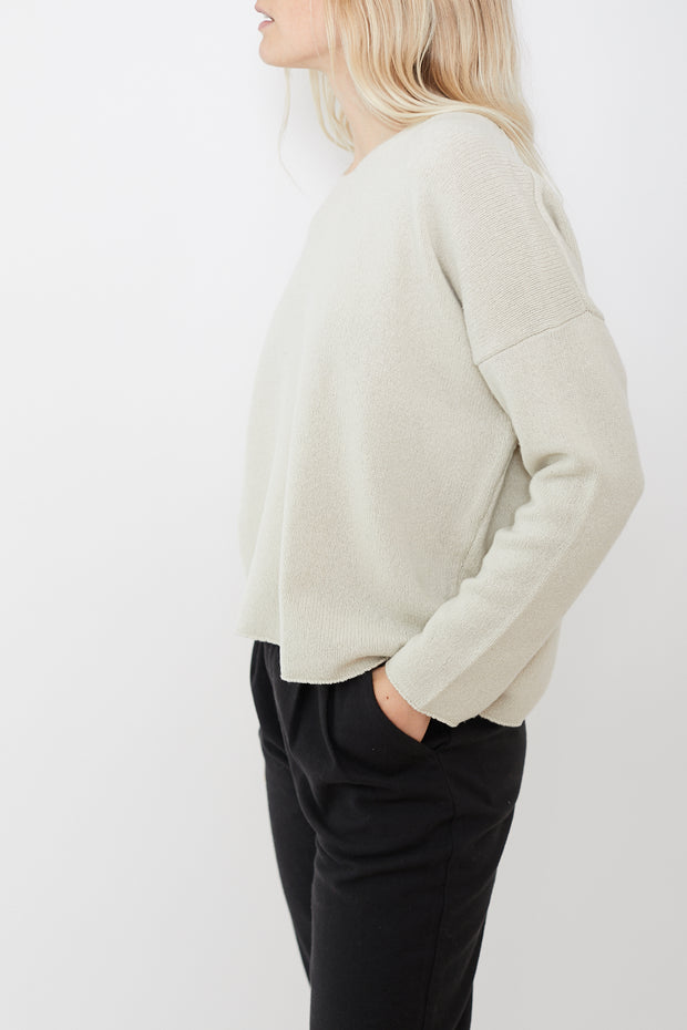 Evam Eva Cotton Wool Knit Pullover
