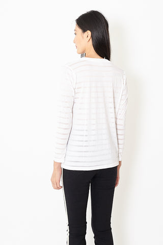 Flatiron Workshop Striped Long Sleeve Crew