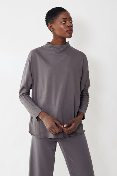 Frank & Eileen Tee Lab Long Sleeve Funnel Neck Tee