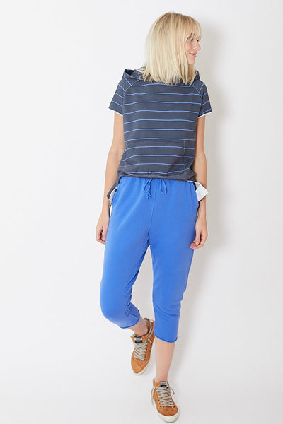 Frank & Eileen Cropped Sweatpant with Raw Hem