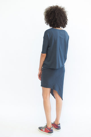 Frank & Eileen Tee Lab Asymmetrical Short Skirt