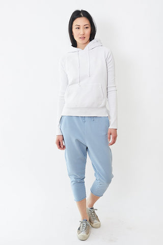Frank & Eileen Tee Lab Cropped Sweatpant with Raw Hem