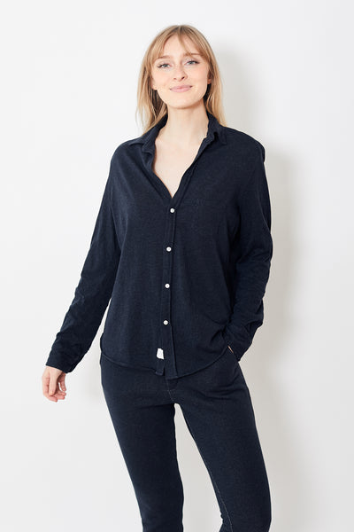 Frank & Eileen Tee Lab Essential Jersey Button Down Shirt