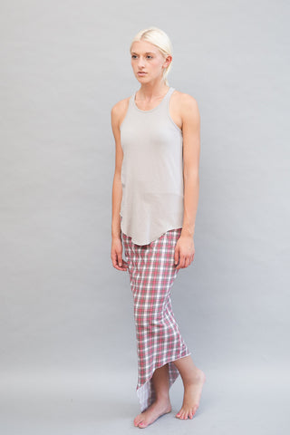 Frank & Eileen Tee Lab Plaid Maxi Skirt - grethen house