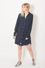 Frank & Eileen Tee Lab Relaxed Button Down Shirt Dress