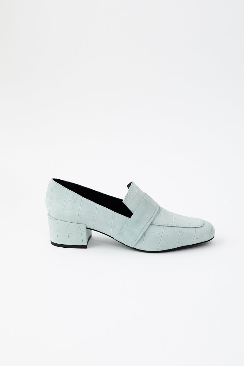 Frēda Salvador Rock Mid Heel Loafer