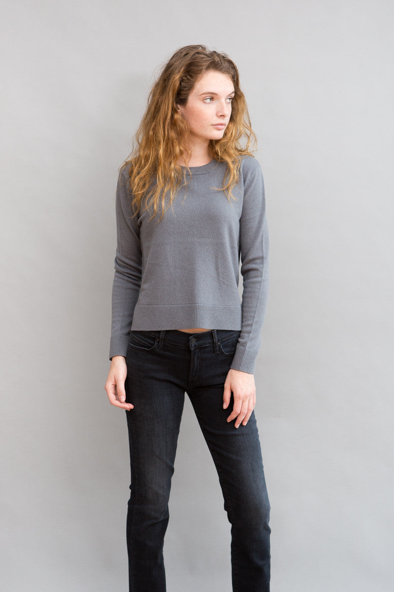 Organic by John Patrick Cropped Pullover - grethen house
