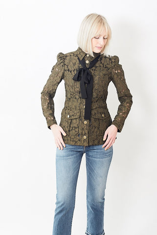Veronica Beard Daniela Army Jacket