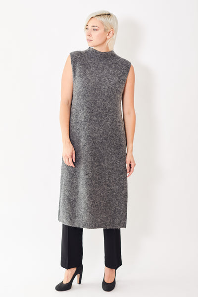 Ganni Soft Wool Long Vest
