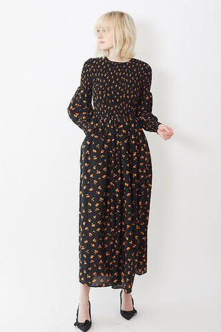 Ganni Beacon Maxi Dress
