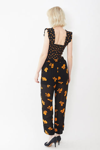 Ganni Fairfax Georgette Pants