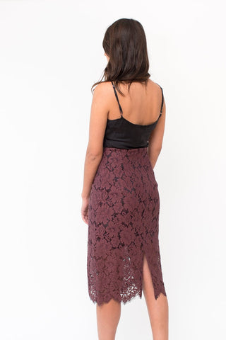 Ganni Jerome Lace Skirt