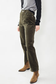 Ganni Stretch Corduroy Pants