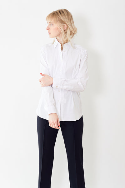 Giangi Rebecca Cotton Stretch Button Up Shirt