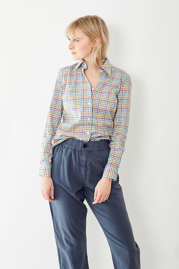 Giangi Renata Plaid Button Up