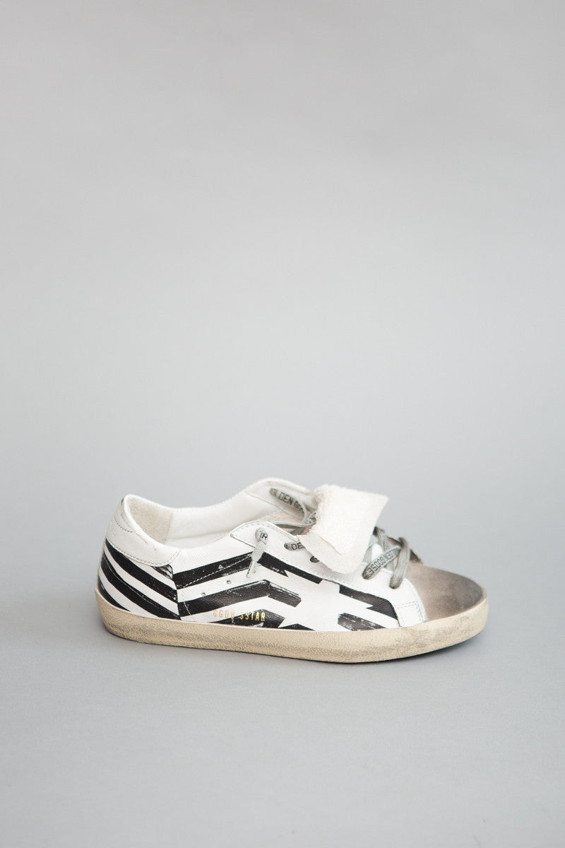 Golden Goose Sneaker Superstar Flag - grethen house