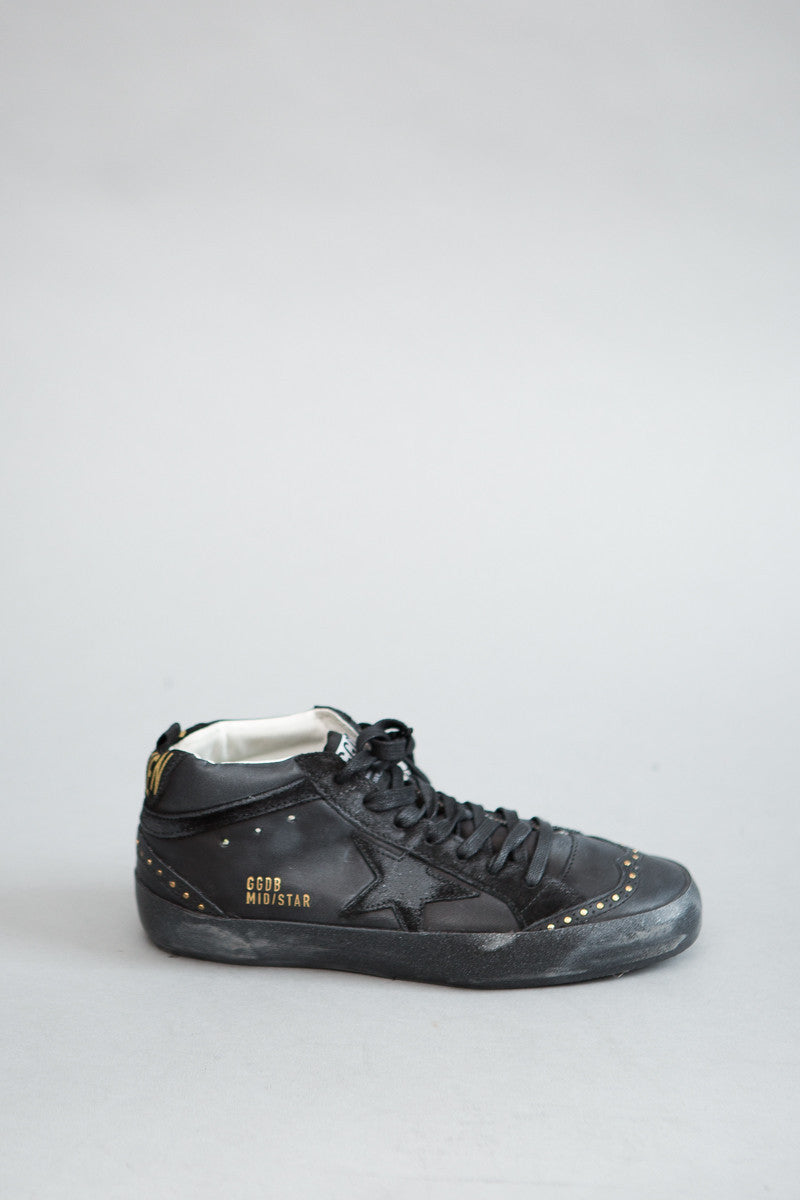 Golden Goose Sneakers Mid Star - grethen house