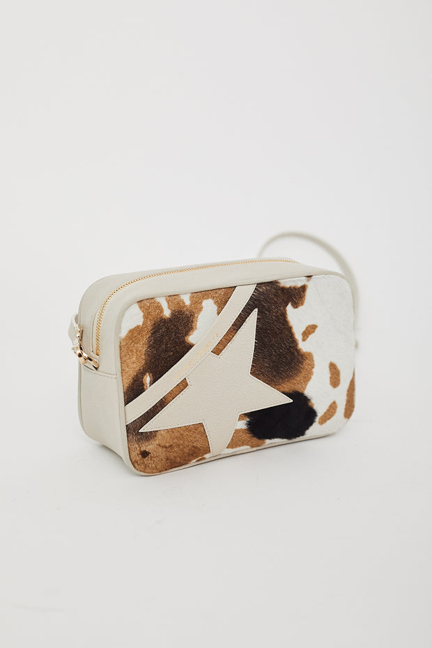 Golden Goose Star Bag Cow Print