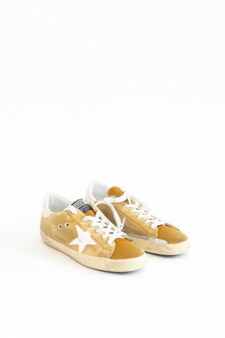 Golden Goose Velvet Superstar Sneakers