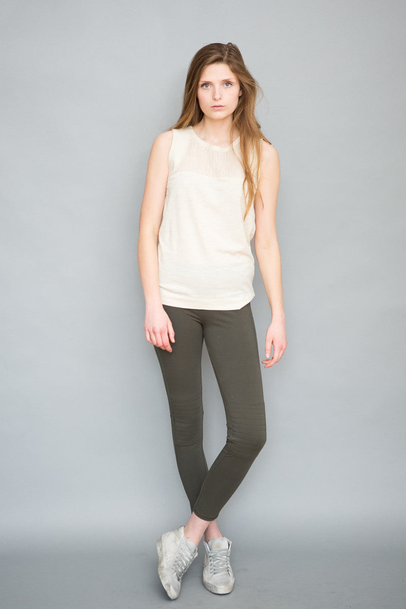 Grey State City Legging - grethen house