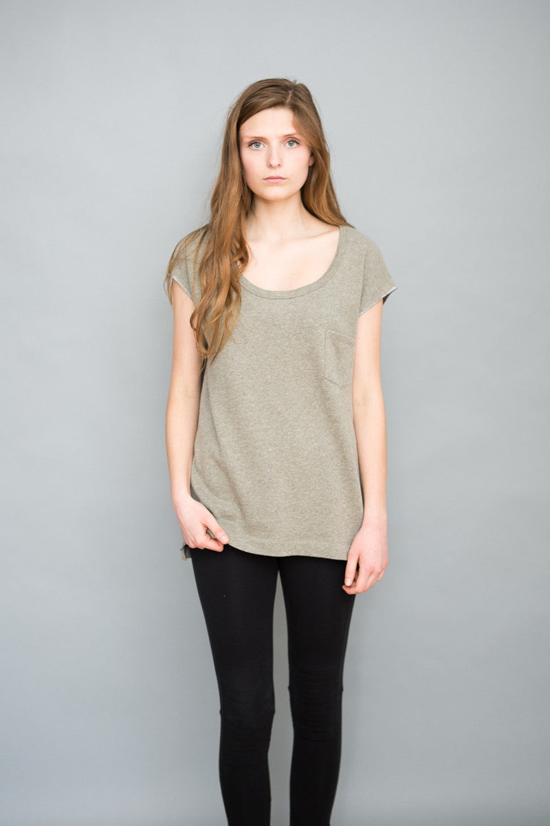 Grey State Terry Tee