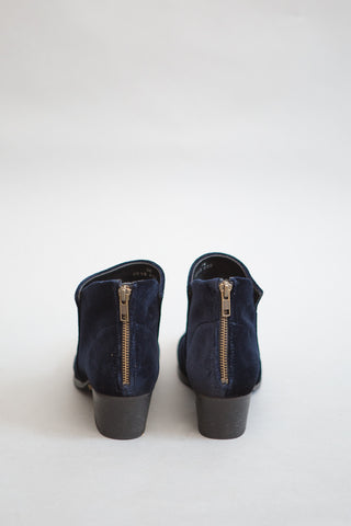 H by Hudson Apisi Velvet Navy Boot