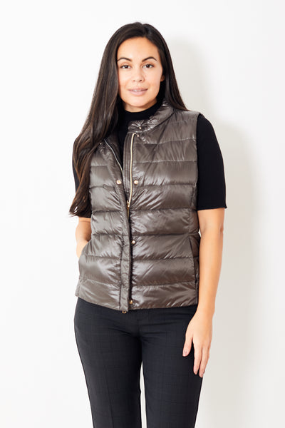 Herno Classic Nylon Fitted Vest