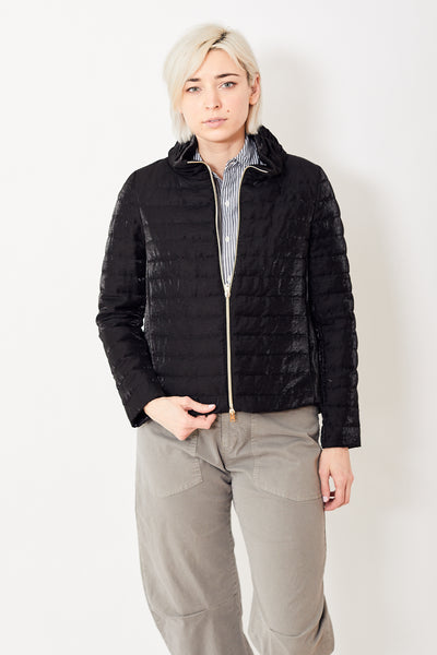 Herno Iridescent Puffer w/Back Pleat