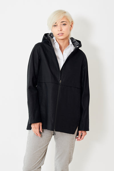 Herno Linen Waterproof Raincoat