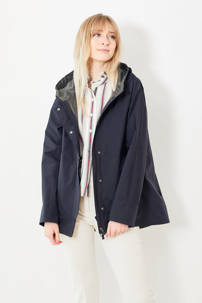 Herno 2 Ply Goretex High Low Jacket