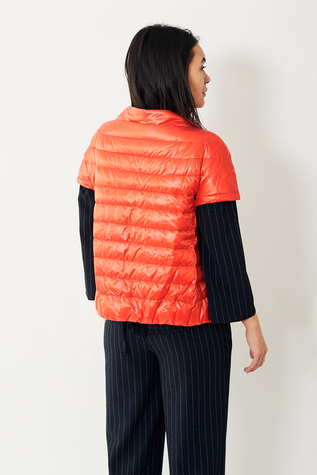 Herno Classic Cap Sleeve Puffer