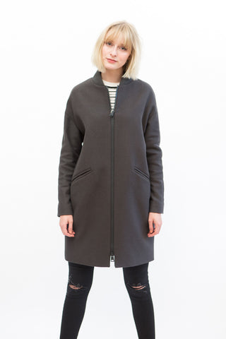 Herno Long Wool Stadium Coat