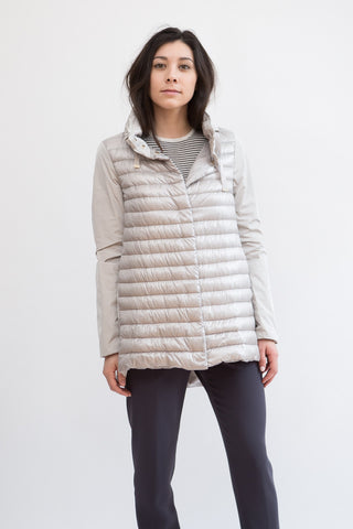 Herno Mix Down Jacket Hidden Hood