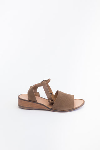 Hudson Shoes Suede Flat Sandal